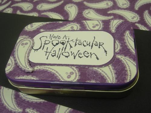 Spooktacular Treat Tin