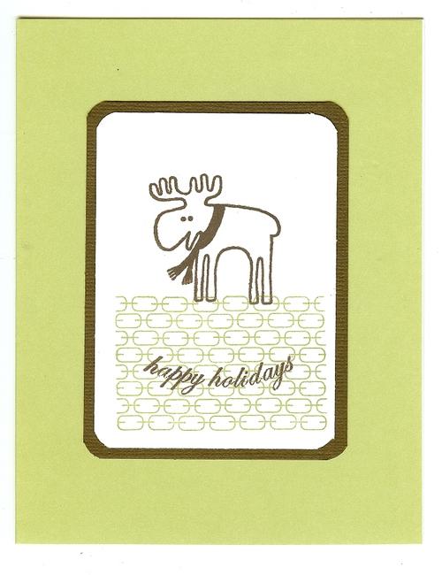 Happy Holiday Moose