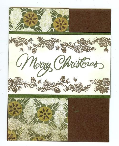 Merry Christmas Pinecones